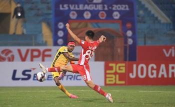 Kết quả, Bảng xếp hạng V-League 2021 (16/1): Hải Phòng bất ngờ 'quật ngã' ĐKVĐ Viettel