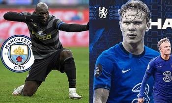 """Tin chuyển nhượng ngày 19/1:  Man City săn Lukaku, Chelsea sắp nổ """"bom tấn"""" Haaland"""