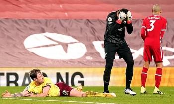 Kết quả, Bảng xếp hạng (BXH) Ngoại hạng Anh ngày 22/1: Thua Burnley, Liverpool bị MU bỏ xa mấy điểm?