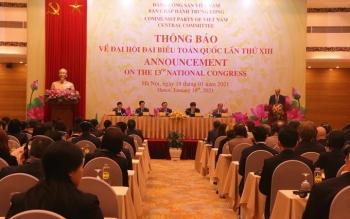 Các nhà ngoại giao nước ngoài bày tỏ tin tưởng vào thành công của Đại hội Đảng lần thứ XIII