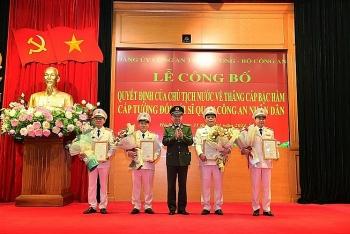 Chân dung Thứ trưởng Bộ Công an vừa được thăng hàm Trung tướng