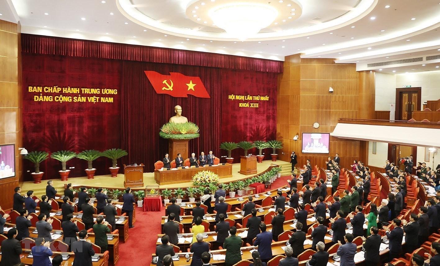 Dong chi Nguyen Phu Trong duoc tin nhiem bau lam Tong Bi thu hinh anh 3