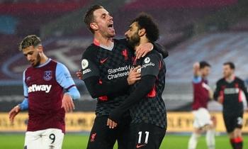 Kết quả, Bảng xếp hạng (BXH) Ngoại hạng Anh ngày 1/2: Thắng West Ham, Liverpool áp sát MU