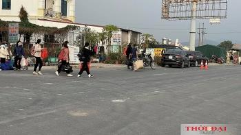 Người dân Hải Dương đi làm ăn xa vẫn tấp nập về quê đón Tết Tân Sửu