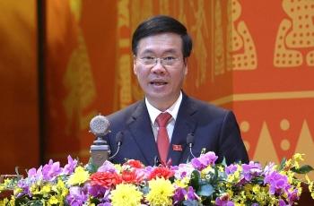 Phát biểu của đồng chí Võ Văn Thưởng tại phiên bế mạc Đại hội đại biểu toàn quốc lần thứ XIII của Đảng