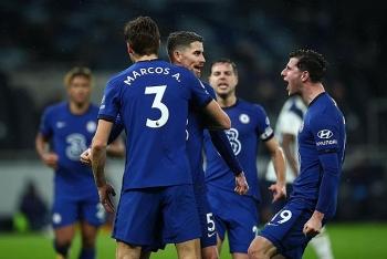 Kết quả, Bảng xếp hạng (BXH) Ngoại hạng Anh ngày 5/2: Chelsea hạ đẹp Tottenham, thu hẹp khoảng cách với MU