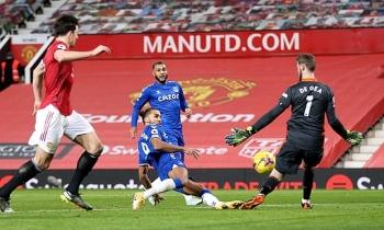 Kết quả, Bảng xếp hạng (BXH) Ngoại hạng Anh ngày 7/2: Cầm hòa Everton, MU cách Man City mấy điểm?