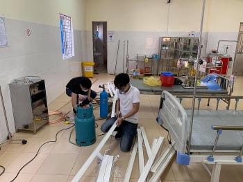 Điện Biên xây bệnh viện dã chiến thần tốc chỉ trong 15 giờ