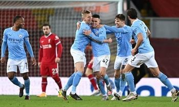 Kết quả, Bảng xếp hạng (BXH) Ngoại hạng Anh ngày 8/2: Vùi dập Liverpool, Man City bỏ xa MU