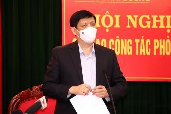 Bộ trưởng Bộ Y tế: Diễn biến dịch bệnh Hải Dương khó lường và có thể kéo dài