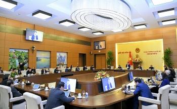 Thường vụ Quốc hội họp thảo luận về việc giới thiệu ứng cử ĐBQH khóa XV