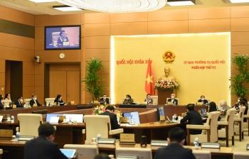 Thường vụ Quốc Hội đánh giá cao nỗ lực, thành tích ấn tượng đạt được của Chính phủ trong nhiệm kỳ 2016-2021