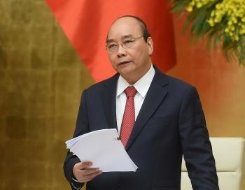 Thủ tướng: Chúng ta nêu quyết tâm vì nhân dân mà làm việc