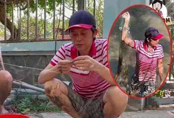 Tin Showbiz Việt Nam ngày 8/3: Hoài Linh 'chân lấm tay bùn' lội ao bắt cá