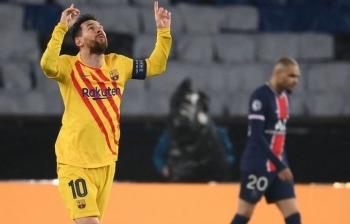 Kết quả PSG vs Barca: Messi hóa 'tội đồ', Barca dừng bước ở cúp C1