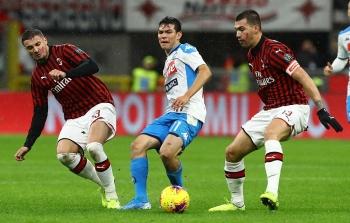 Lịch thi đấu vòng 27 Serie A 2020/21: AC Milan khó thở, Inter tiếp tục thăng hoa?