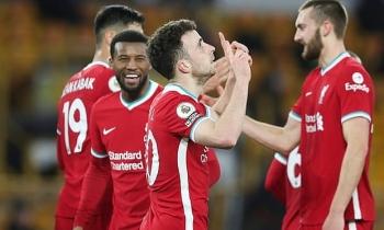 Kết quả, Bảng xếp hạng (BXH) Ngoại hạng Anh ngày 16/3: Thắng nhọc Wolsves, Liverpool kém MU mấy điểm?