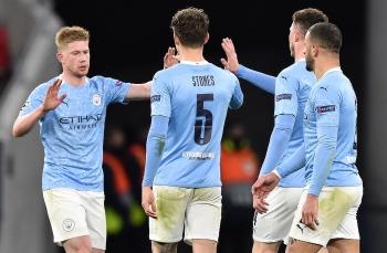 Kết quả bóng đá Cúp C1 ngày 17/3: Thắng Monchengladbach, Man City theo bước Liverpool