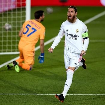 Kết quả bóng đá Cúp C1 ngày 17/3: Ramos ghi bàn, Real Madrid giành vé đi tiếp
