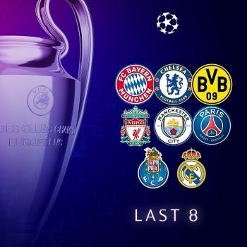 Top 8 đội tứ kết Champions League 2020/21: Ngoại hạng Anh áp đảo