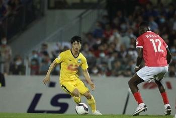 Kết quả, Bảng xếp hạng V-League 2021 (20/3): Bị Hà Tĩnh cầm hòa, HAGL xếp thứ mấy?
