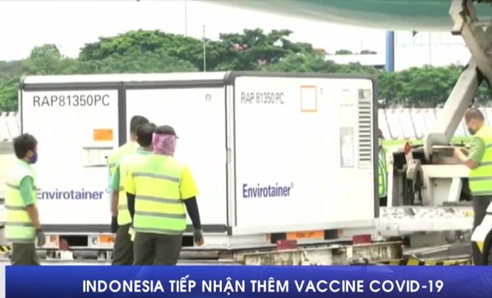 Indonesia tiếp nhận thêm vaccine COVID-19