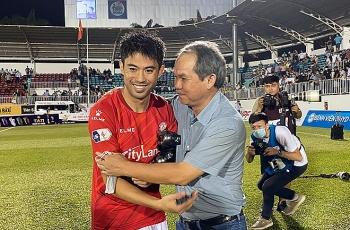 Bầu Đức động viên Lee Nguyễn sau khi HAGL huỷ duyệt TP.HCM