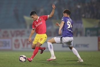 Kết quả, Bảng xếp hạng V-League 2021 (29/3): Bị Hà Tĩnh cầm hòa, Hà Nội kém HAGL mấy điểm?