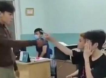 Tin mới vụ 2 thiếu niên bị đánh dã man tại trường Nguyễn Văn Tố: Đình chỉ dân phòng