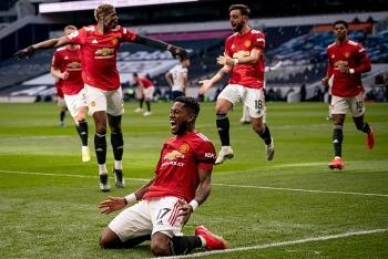 Kết quả, Bảng xếp hạng (BXH) Ngoại hạng Anh ngày 12/4: MU còn kém man City mấy điểm?