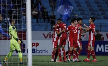 Kết quả, Bảng xếp hạng V-League 2021 (16/4): Viettel phả hơi nóng lên ngôi số 1 HAGL