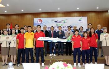 Đội tuyển Việt Nam đi máy bay riêng đến UAE dự vòng loại World Cup 2022