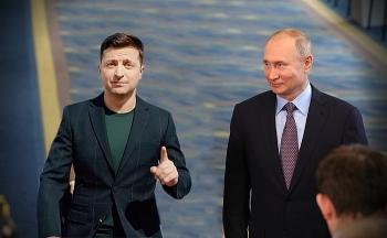 Tổng thống Ukraine mời ông Putin đến vùng chiến sự để đàm phán