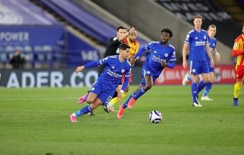 Kết quả, Bảng xếp hạng (BXH) Ngoại hạng Anh ngày 23/4: Leicester đe dọa vị trí MU