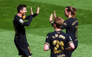 Bảng xếp hạng La Liga: Atletico, Real thất thế, Barca sắp soán ngôi số 1