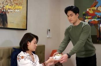 Phim Hướng dương ngược nắng tập 60 hôm nay: Vợ và con Hoàng lộ diện, Minh tha thứ cho Trí