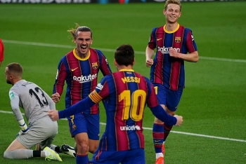 Cực nóng bảng xếp hạng La Liga: Barca lỡ cơ hội chiếm ngôi số 1