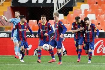 """Bảng xếp hạng La Liga 2021: Kịch tính lên """"đỉnh"""" khi Barca bắt kịp Real, chờ soán ngôi Atletico"""