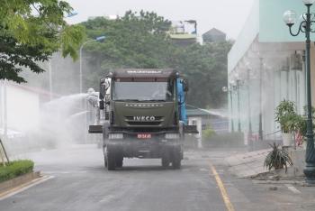Binh chủng hóa học, Bộ Tư lệnh Thủ Đô phun khử khuẩn BV K cơ sở Tân Triều