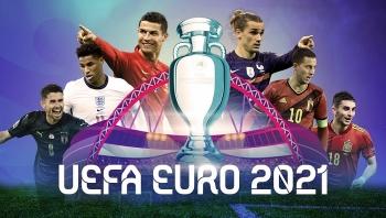 Lịch thi đấu VCK Euro 2021: Bồ Đào Nha khó bảo vệ ngôi vương