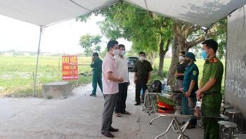 Bắc Giang giãn cách xã hội 4 huyện để phòng dịch COVID-19