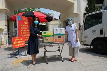 200.000 sản phẩm của Vinamik đến với các khu cách ly ở Hà Nội, Hà Nam, Bắc Ninh
