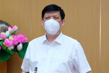 Bộ trưởng Bộ Y tế: Ưu tiên số 1 là dập bằng được ổ dịch Bắc Giang