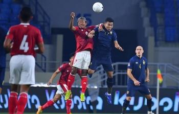 Kết quả vòng loại World Cup 2022: Hòa Indonesia, Thái Lan lỡ cơ hội soán ngôi Việt Nam