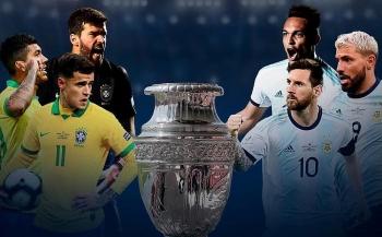 Lịch thi đấu, trực tiếp Copa America 2021 hôm nay: Argentina vs Chile