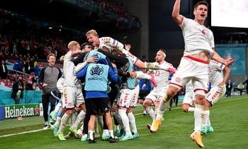 Kết quả, Bảng xếp hạng EURO 2021 ngày 22/6: Đan Mạch lách qua khe cửa hẹp, Nga dừng bước