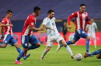 Messi tịt ngòi, Argentina thắng nhọc Paraguay ở Copa America 2021