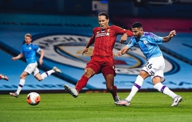 Kết quả Ngoại hạng Anh vòng 32, Man City 4-0 Liverpool: Tân Vương buông sớm