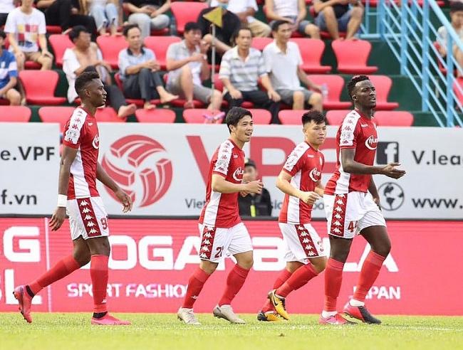 Bảng Xếp Hạng Vong 9 V League 2020 Ngay 11 7 2020 Cong Phượng Ghi Ban Tp Hcm đoi Lại Ngoi Số 1 Thời đại