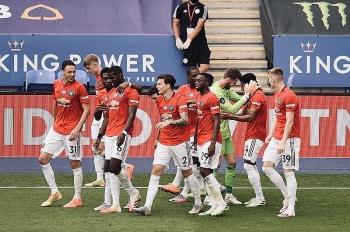 Bảng xếp hạng Ngoại hạng Anh (NHA) ngày 27/7: MU top 3, Chelsea thở phào